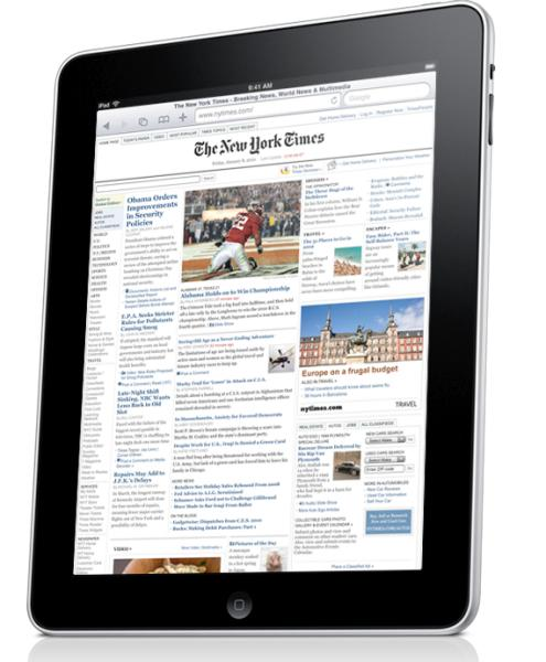The Apple iPad: starting at $499