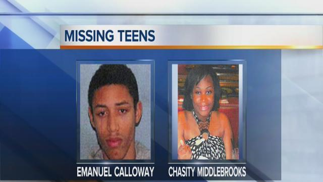 6pm: Missing teenagers