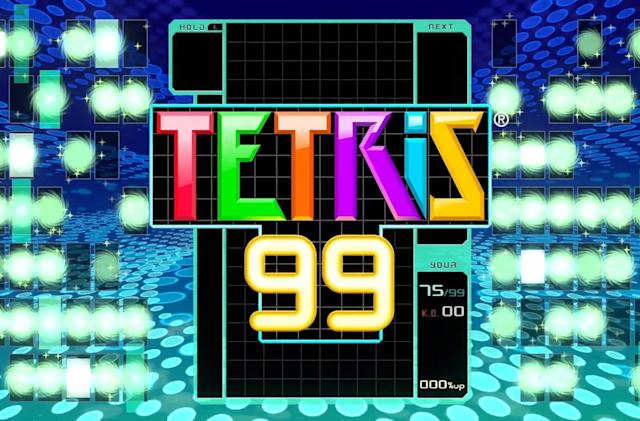 'Tetris' is now a battle royale game exclusive to Nintendo Switch
