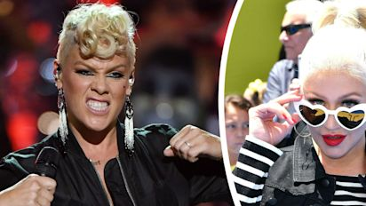 Pink says Christina Aguilera once tried to fight her