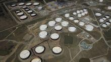 Oil steadies as US crude inventories drop