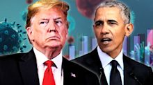 Yahoo News/YouGov poll: Most Americans deny Trump virus response is a 'success' — nearly half say Obama would be doing better