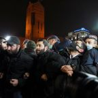 Hundreds protest against Armenian PM, block streets over ceasefire deal