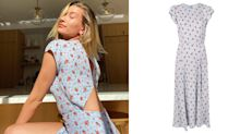 Hailey Bieber is embracing quarantine style with the prettiest $308 floral dress