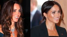 Meghan Markle and Kate Middleton Reportedly Can't Wear Diamonds Before 6 P.M.