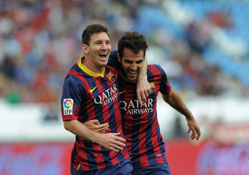 """Barça, Fabregas : """"J'admire Lionel Messi, il a su rester humble"""""""