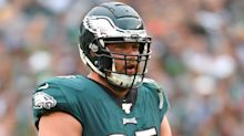 Eagles injury update: Lane Johnson misses practice but Eagles get a few WRs back
