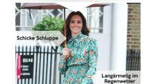 Look des Tages: Herzogin Kate trotzt dem Schmuddelwetter