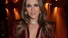 Fans are obsessed with Liz Hurley's plunging red dress