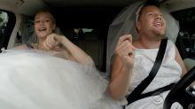 Iggy Azalea and James Corden Wear Wedding Dresses, Sing Karaoke
