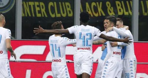 Foot - ITA - Naples serein chez l'Inter Milan
