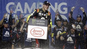 Bowman earns his first win in Cup Series
