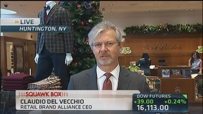 Brooks Brothers CEO: Black Friday not biggest day for us