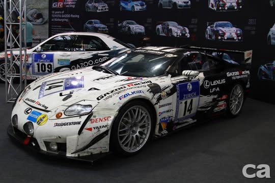 2007年已Lexus LFA原型車參與Nurburgring 24小時耐久賽。