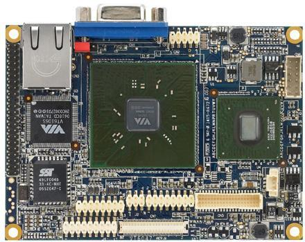Via's VT6047 mainboard becomes first in Pico-ITX lineage