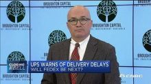 FedEx has invested far more heavily in infrastructure tha...