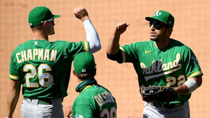 Power rankings: A's deserve an A+ so far