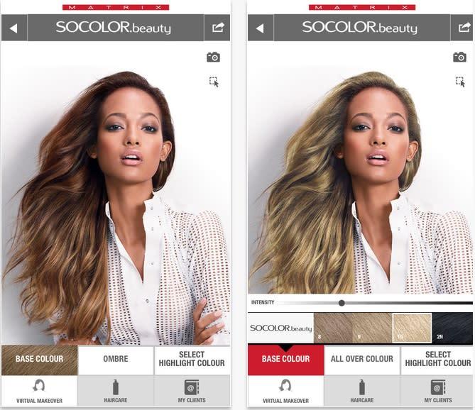 Matrix and ModiFace create next-gen hair color simulator