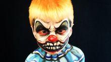 Com o Halloween se aproximando, artista faz maquiagens incríveis em crianças