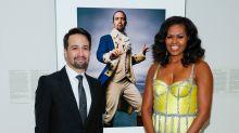 Michelle Obama Presents Portrait Of A Nation Prize To 'Good Friend' Lin-Manuel Miranda