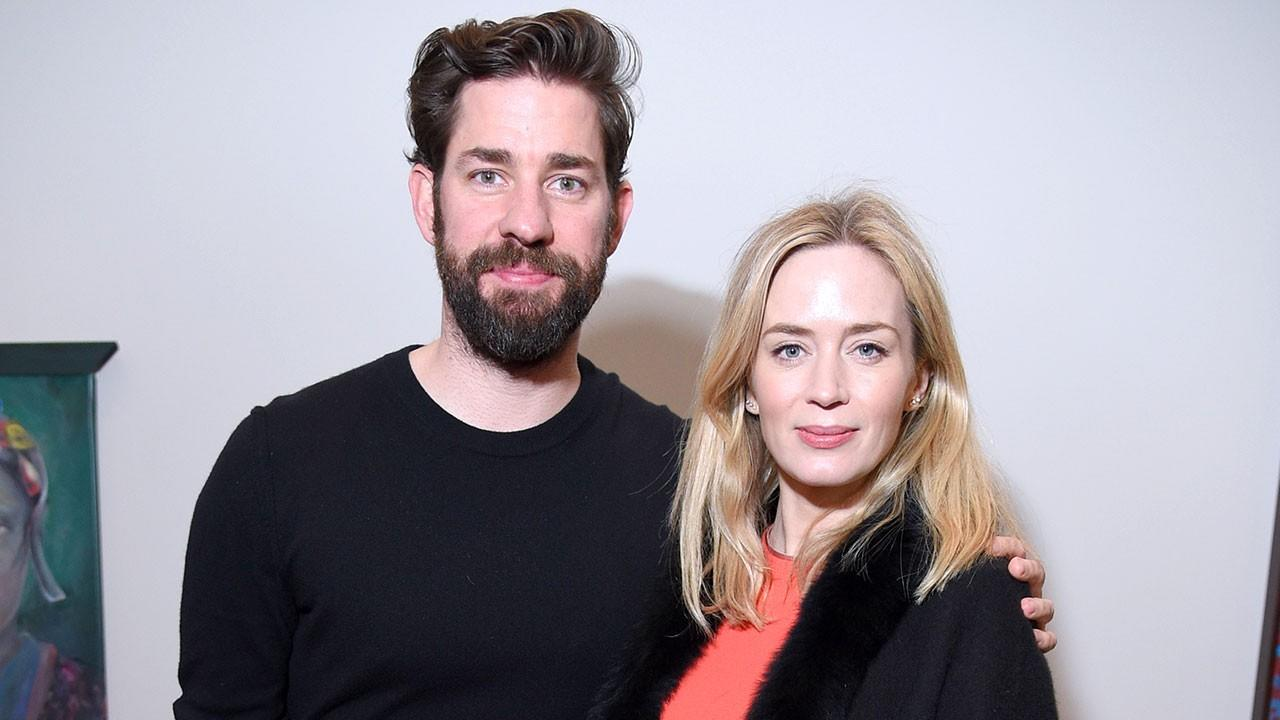John Krasinski Jokes He Married Emily Blunt Because He