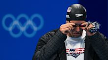 Olympic mystery solved: Why does Caeleb Dressel carry a blue bandanna?
