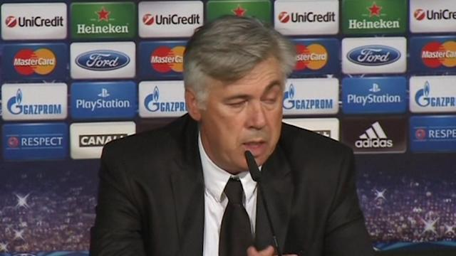 Ancelotti not entirely happy with Real victory over Copenhagen