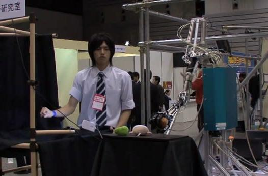 Gesture-controlled robot arm enables civilization's most meta high five