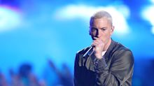Eminem Looks Crazy Different With New Beard, Hair Color