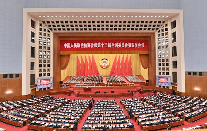 CHINA-BEIJING-CPPCC-ANNUAL SESSION-SECOND PLENARY MEETING (CN)