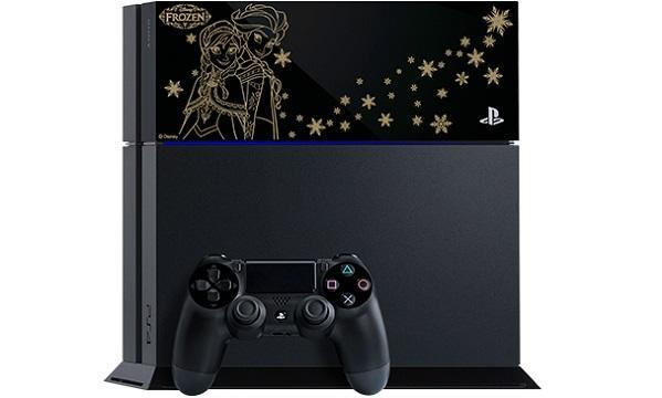 Limited edition Frozen PS4 only announced for Japan, let it go