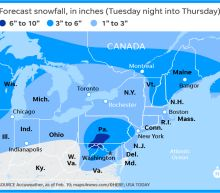 Snow, ice, torrential rain brings weather havoc to 39 states, 200 million people