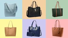 Amazon's best-selling tote bags look way more expensive than they are: 'classy' and 'great quality'