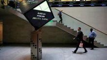 World stocks post best week in 2 years, dollar climbs