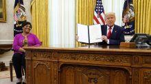Trump grants full pardon to grandmother, Alice Marie Johnson