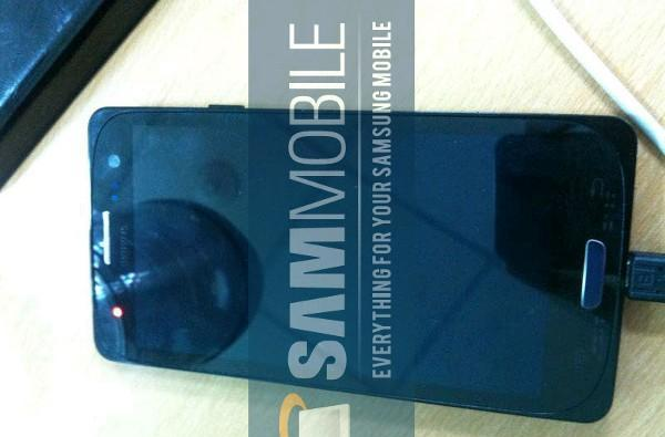 Alleged Galaxy S III pops up again, with rounded glass and GT-I9300 branding