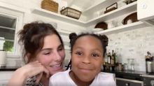 Sandra Bullock makes rare appearance with daughter Laila to say thank you to nurse fighting coronavirus