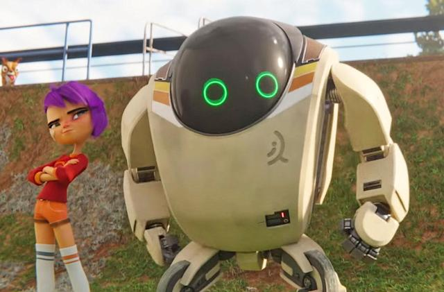 Netflix's 'Next Gen' trailer features John Krasinski as your robot buddy