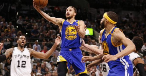 Basket - NBA - Mal embarqués, les Warriors parviennent à renverser San Antonio