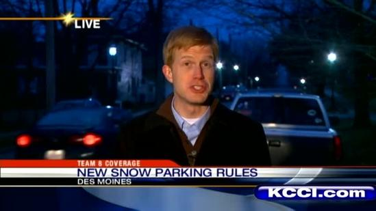 How to avoid getting a ticket during snowstorm
