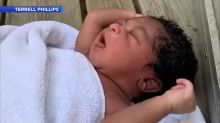 Hours-old baby who 'still had the umbilical cord' found abandoned on stranger's porch