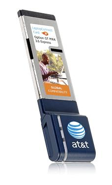 AT&T gets ExpressCard, USB modems