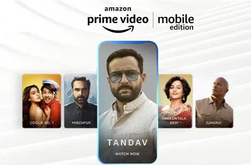 Amazon follows Netflix with mobile-only video subscriptions in India