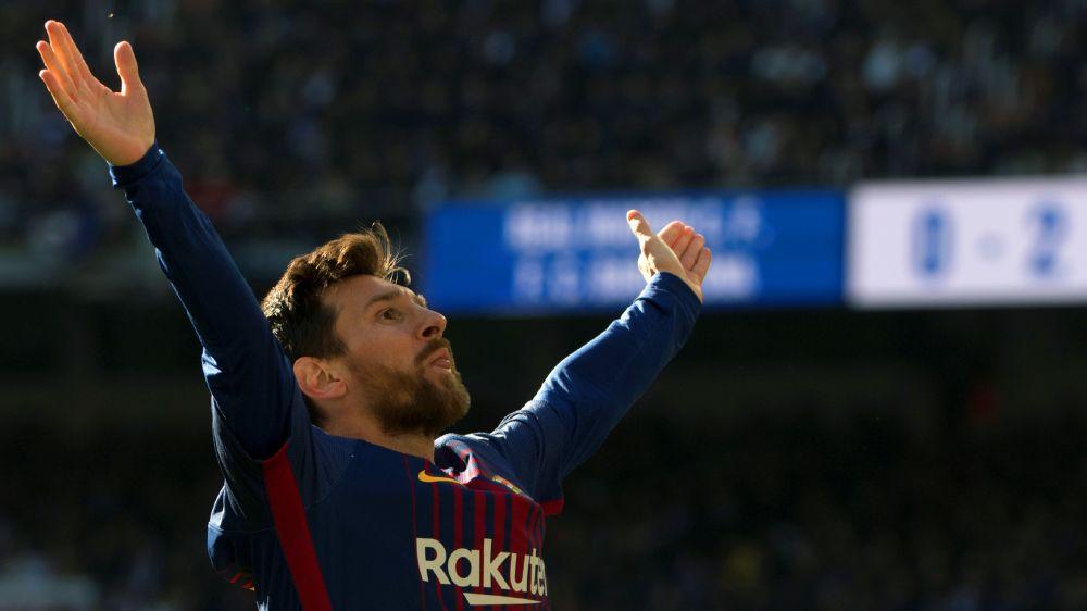 El homenaje del Real Madrid a Messi