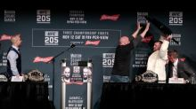 Conor McGregor goes full Conor McGregor, tries to throw chair at UFC 205 news conference