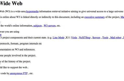 CERN celebrates 20 years of a free, open web by restoring world's first website