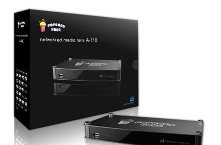 Popcorn Hour puts A-110 HD media streamer, B-110 mobo up for pre-order