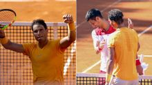 Nadal overpowers Djokovic to reach Rome final