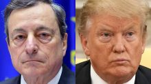 'Currency war' fears rise as Trump slams Draghi's hint at more ECB stimulus