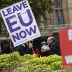 UK leader fights back against critics amid Brexit upheaval